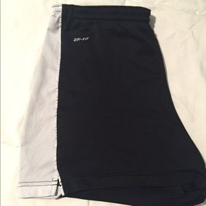 Dry fit Nike workout shorts