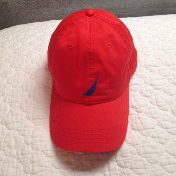 Red and Blue Nautica Baseball Hat. M 5636e11aeaf0304d7e007266 f1023a85ea6