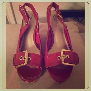Apple Red Wedges