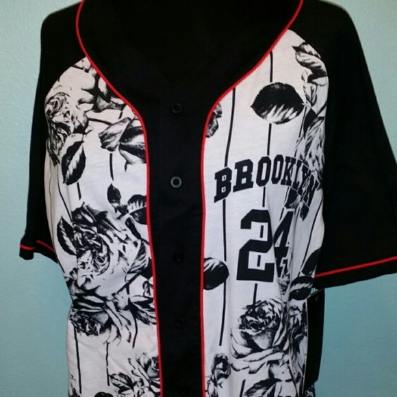 30c4245f4660 master piece Tops | Sold On Vinted Brooklyn Baseball Shirt | Poshmark