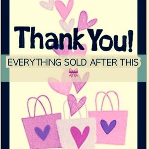 Other - Thank you for shopping my closet 🎀