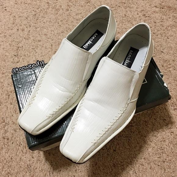 Men White Loafer Dress Shoe | Poshmark