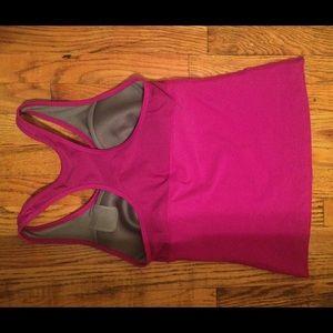 5c6bbb0767 Nike Tops - Nike running top tank built bra m purple dri-fit