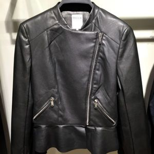 Zara Jackets & Blazers - ZARA LEATHER BIKER JACKET BRAND NEW