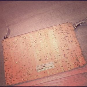 Elaine Turner Cork Clutch (NWOT)
