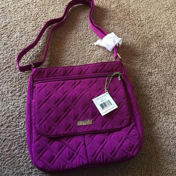 Vera Bradley Bags   Nwt Double Zip Mailbag And Wallet   Poshmark ceb1c88e61