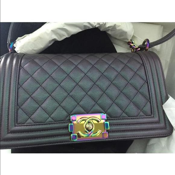 a090378659c3 CHANEL Bags   Brand New Boy Rainbow 2015 Medium   Poshmark