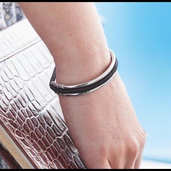 Silver Hair Tie Bracelet 442feac1252