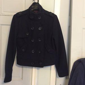 Forever 21 Jackets & Blazers - Forever 21 short length navy blue peacoat size L