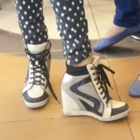 Sexy Bamboo Sneaker Heels   Poshmark