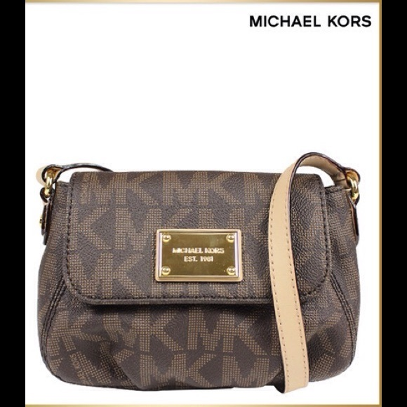 6a443ef47c26 Michael Kors Jet Set Small Flap Crossbody
