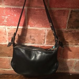 Perlina Handbags - Perlina black leather purse