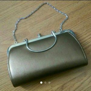 Handbags - HOST PICK - Small bronze evening purse