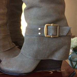 Shoes - Bundle boots and bag $48