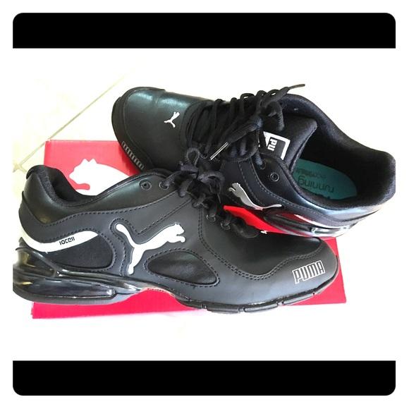 Puma Running eco OrthoLite BlackSilver Shoes