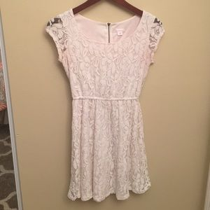 Off-White Lace Dress