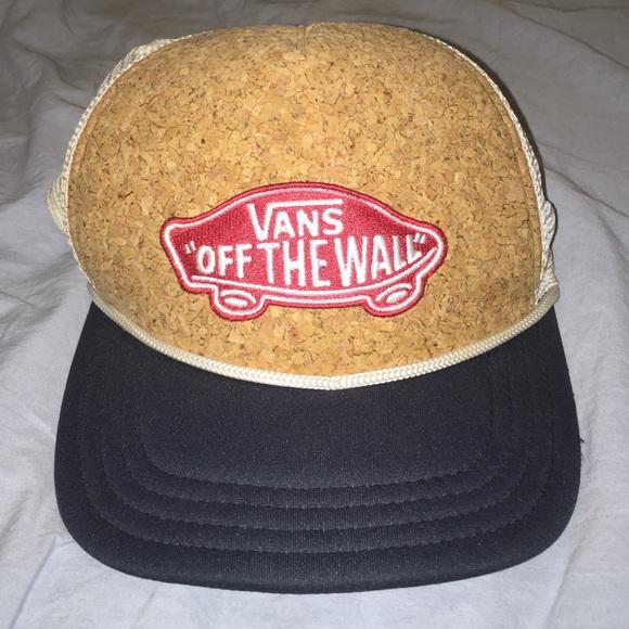 Vans SnapBack Hat - Cork Front f0054725c6c