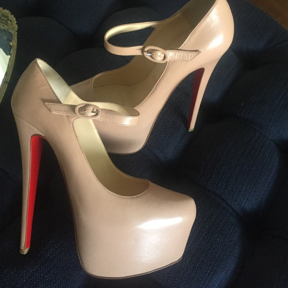 christian louboutin mary jane daffodile