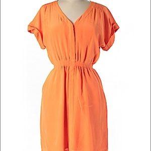 Peach Madewell Summer Dress