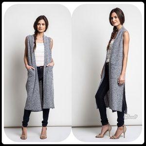 Cloud 9 Sweaters - 🍂Gorgeous Grey Melange Duster