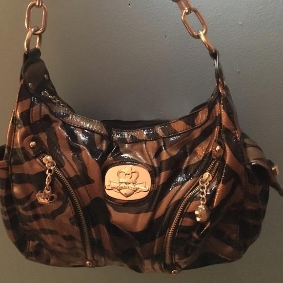 Kathy Van Zeeland Handbags - Brown   Black Zebra Print Kathy Van Zeeland  Purse a4cf28a3c12cc