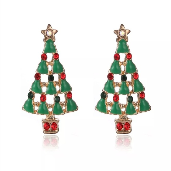 Botique Christmas Tree Earrings From Faccio 39 S Closet