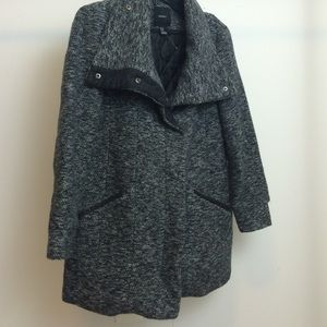 Forever 21 Jackets & Blazers - Forever 21 Premium Marled Grey Coat