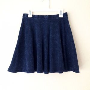 Forever 21 Dresses & Skirts - Acid Wash Circle Skirt skater