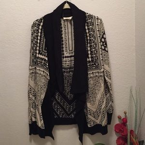 Urban outfitters printed cardigan