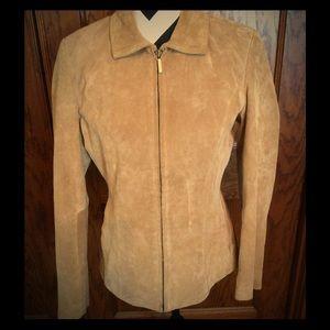 SIENA Jackets & Blazers - Siena Tan Suede Jacket
