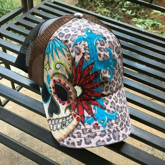 86779ee0214 Accessories - Custom painted trucker hat