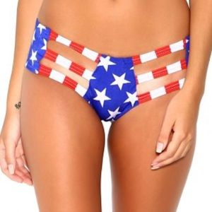 American Cut Out Booty Short
