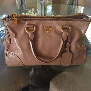 100% off Prada Handbags - BUNDLED Prada Vitello shine from Beyonce ...