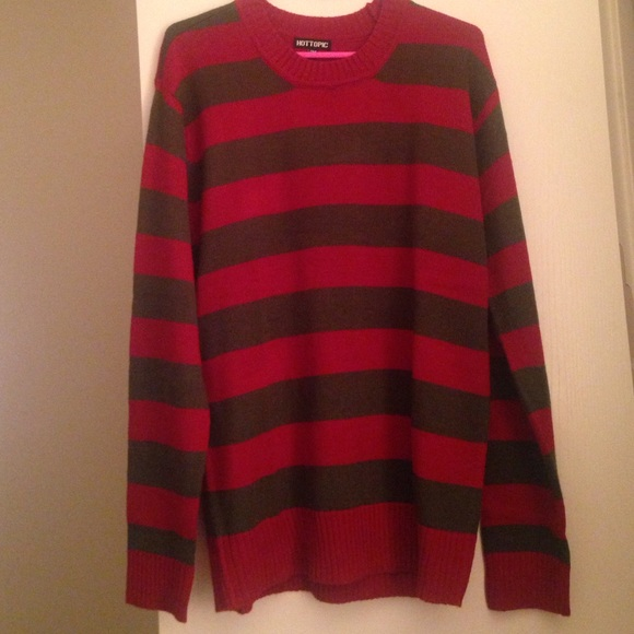 Hot Topic Sweaters Freddy Krueger Sweater Brand New Cant Return