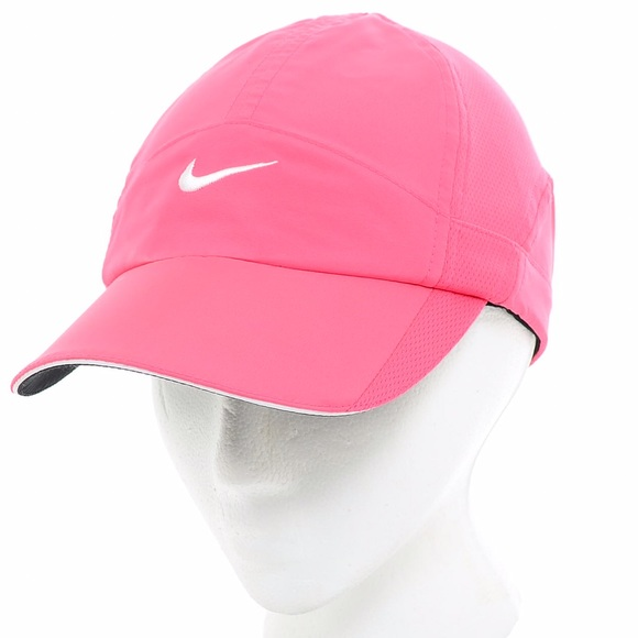 wholesale dealer c0728 2c388 ... get pink nike dri fit featherlight hat baseball cap c4309 53a69