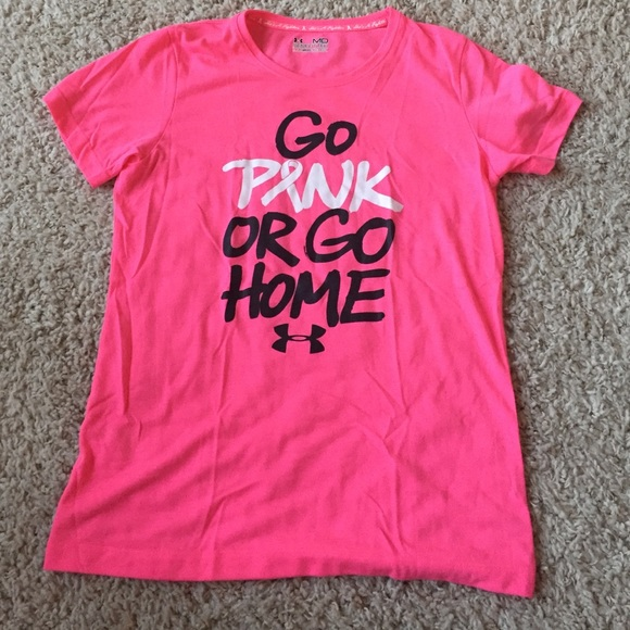 Under armour breast cancer shirts