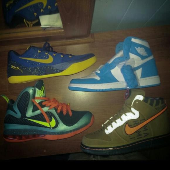 size 40 7a69c 746cb Nike Dunk Galaxy and Kobe 9