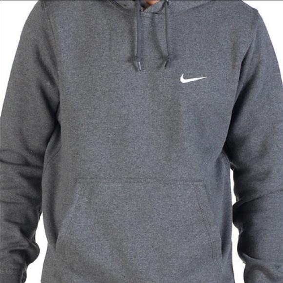 Nike Pullover Hoodie Grey Womens 47