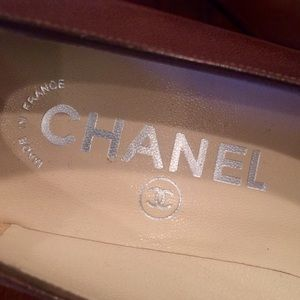 SALEAuthentic CHANEL Heels in Mocha Brown Sz 37