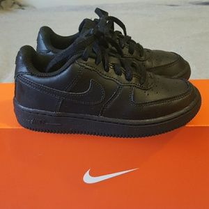 Nike Shoes - Black Uptowns size 12.5 kids 0f766ea5fcdf