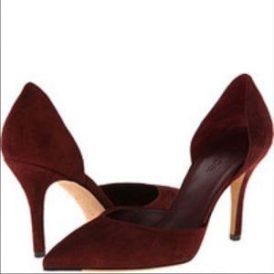 Vince Shoes - ⚡FINAL⚡️VINCE Celeste D'Orsay heel in burgundy