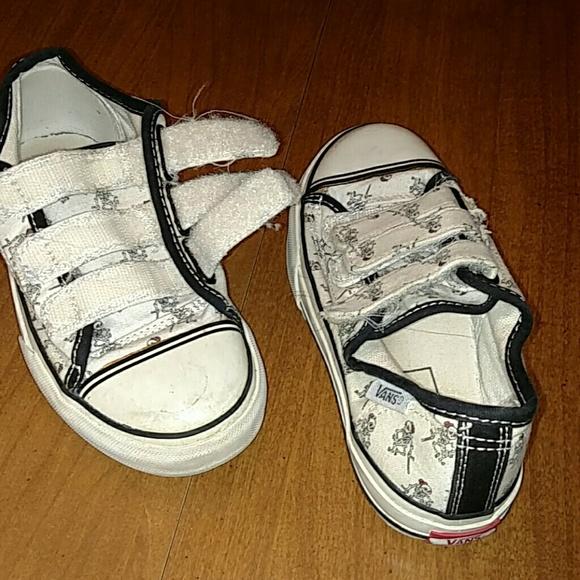 Vans Shoes Mr Bones Sz 125 Youth Small Sneakers Black Poshmark