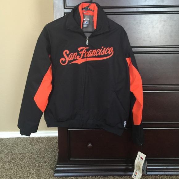 pretty nice 6f599 1fc4e NWT Authentic Majestic San Francisco Giants jacket NWT