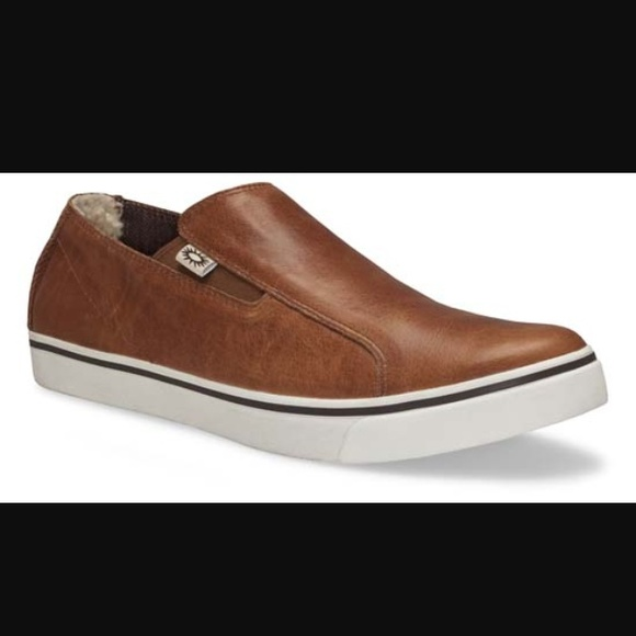 ✨SALE✨ Men's UGG Bracken Leather Slip-On Sneakers