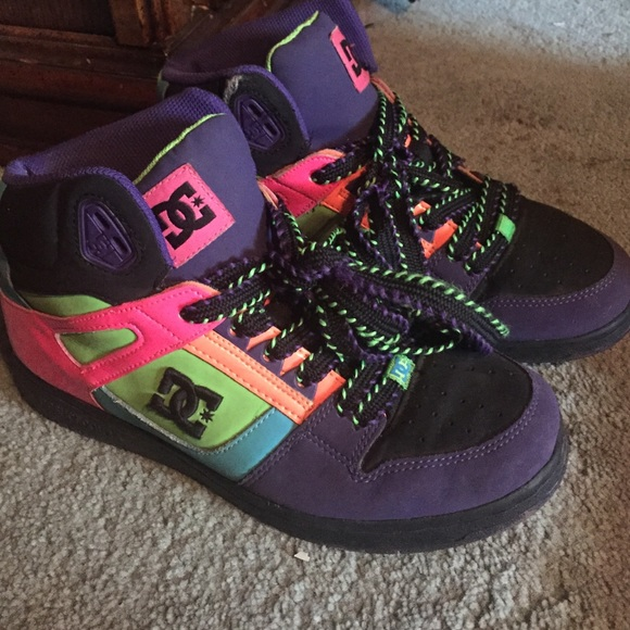 DC Shoes   Colorful Dc High Tops Womens