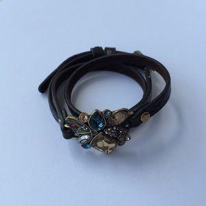 🎈Sunset on the Seine Leather Bracelet
