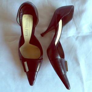 Michel Perry Shoes - Michel Perry Black D'Orsay Pump