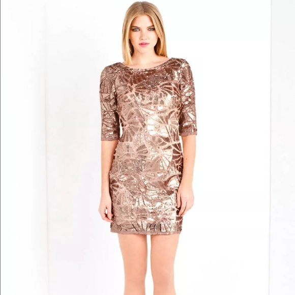 28% off Forever unique Dresses & Skirts - Forever Unique Rose gold ...