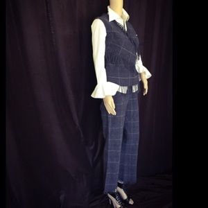 Archived 5/16 Alexander McQueen Grey Plaid Set