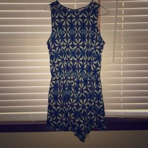 Italian Brand Patterned Romper